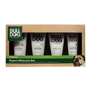Bulldog Expert Skincare Set Including Shave Gel, Face Wash, Facial Moisturizer