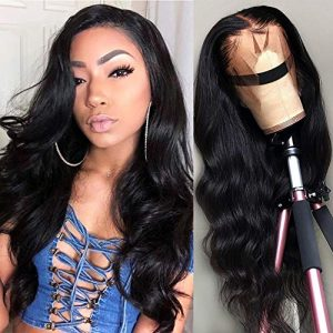 Lace Front Human Hair Wigs for Black Women Glueless Body Wave Wig