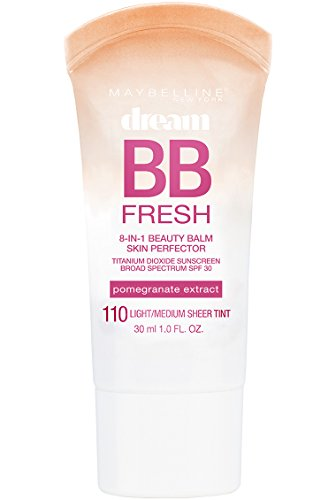 Maybelline Dream Fresh BB Cream, Light/Medium, 1 Ounce (Packaging May Vary)