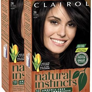 Clairol Natural Instincts, Midnight Black