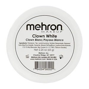 Mehron Makeup Clown White Professional Makeup