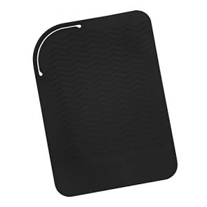 Sygile Silicone Heat Resistant Travel Mat, Anti-heat Pad for Hair Straighteners