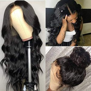 Pizazz Pizazz 360 Lace Frontal Wig Pre Plucked with Baby Hair 9A Brazilian Remy