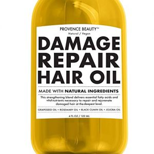 Repairing Hair Treatment Oil - Grapeseed, Rosemary, Black Cumin and Jojoba Oil