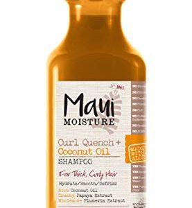 Maui Moisture Curl Quench + Coconut Oil Shampoo, 13 Ounce