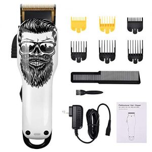 Upgraded Cordless Electric Hair Clippers 2-Speed Professional Rechargeable