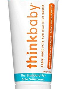 Thinkbaby Safe Sunscreen SPF 50+ (6 ounce)