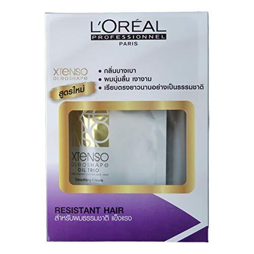 L'Oreal Paris X-tenso Moisturist Hair Straightener Set for Natural Resistant Hair
