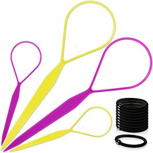 Topsy Hair Tail Tools, TsMADDTs Hair Braid Accessories Ponytail Maker