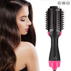 Hot Air Brush, Hair Dryer Brush, One Step Hair Dryer & Volumizer