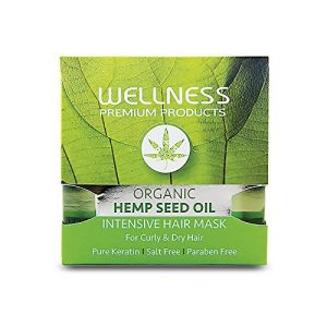 Hemp Seed Oil Hair Mask 500ml/16.9oz