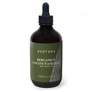 Hair Mask Oil from Organic Bergamot, Coconut & Sesame