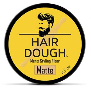 Hair Dough Styling Clay For Men, Matte Finish Molding Hair Wax Paste Quiff