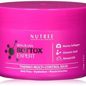 Brazilian Hair Bottox Expert Thermal Mask 8.8 oz - Contains Marine Collagen