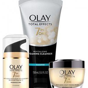 Face Wash by Olay Total Effects Day to Night Anti-Aging Skincare Kit with Cleanser