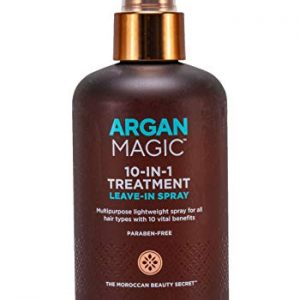 Argan Magic 10 in 1 Hair Treatment and Stylizing Spray White