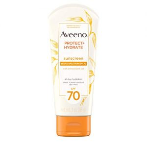 Aveeno Protect + Hydrate Moisturizing Sunscreen Lotion with Broad Spectrum