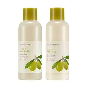 Nature Republic Toner Emulsion Set with Olive Leaf Extracts