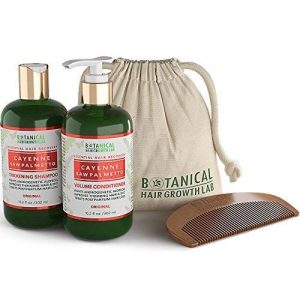 Botanical Hair Growth Lab Hair Loss Shampoo and Conditioner Cayenne