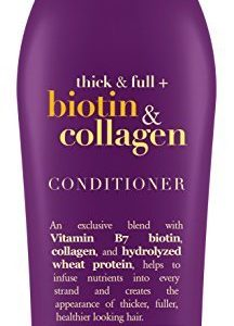 OGX Thick & Full + Biotin & Collagen Conditioner, Salon Size