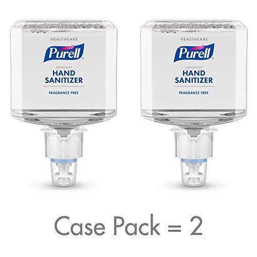PURELL Healthcare Advanced Hand Sanitizer Gentle & Free Foam, Fragrance Free