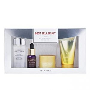MISSHA Best Seller Kit - Set of 4 Missha Top Essentials in Deluxe Travel Sizes