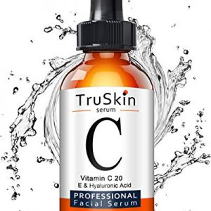 TruSkin Vitamin C Serum for Face, Topical Facial Serum with Hyaluronic Acid