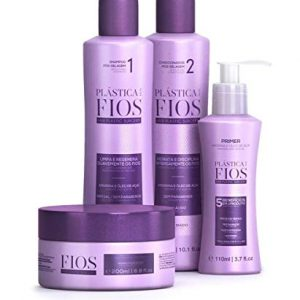 Cadiveu - Home Care Line - Plastica Dos Fios Hair Smoothing Set