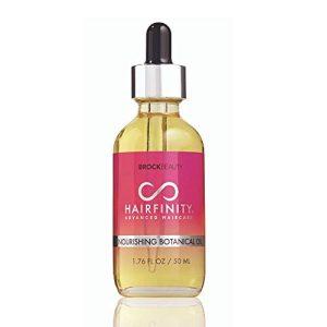 Hairfinity Botanical Hair Oil - Growth Treatment for Dry Damaged Hair and Scalp