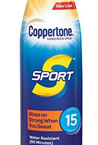Coppertone SPORT Continuous Sunscreen Spray Broad Spectrum