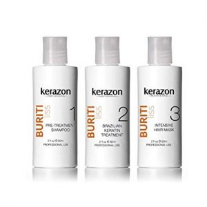 Brazilian Keratin Treatment Complex Blowout KERAZON kit 2oz/60ml