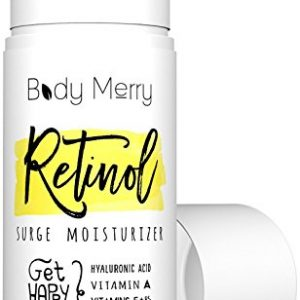 Body Merry Retinol Moisturizer Anti Aging/Wrinkle & Acne Face Moisturizer Cream