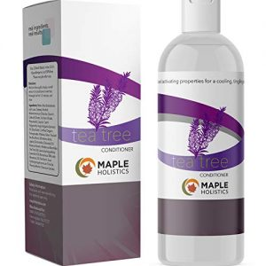 Pure Tea Tree Oil Conditioner for Dry Damaged Hair Boost Hair Growth Family