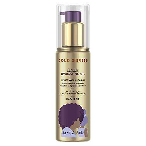 Pantene, Hair Oil Treatment, Sulfate Free, Intense Hydrating, Pro-V Gold Series