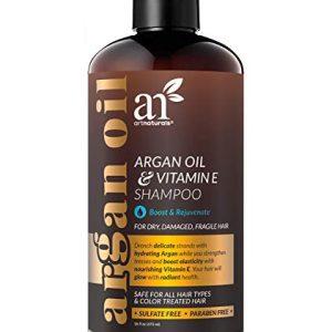 ArtNaturals Argan Hair Growth Shampoo - (16 Fl Oz / 473ml) - Sulfate Free
