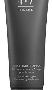 -417 Dead Sea Cosmetics Body & Hair Shampoo for Men