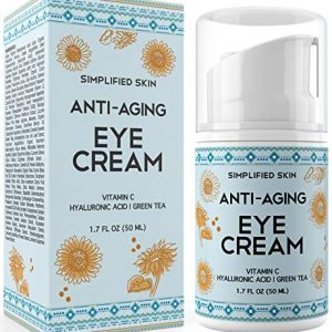Eye Cream for Dark Circles, Wrinkles, Bags & Puffiness. Best Under & Around Eyes