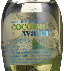 OGX Weightless Hydration + Coconut Water Shampoo, 13 Ounce Bottle