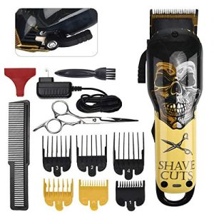 Hair Clippers - Rekidm Professional Hair Clippers Rechargeable Battery