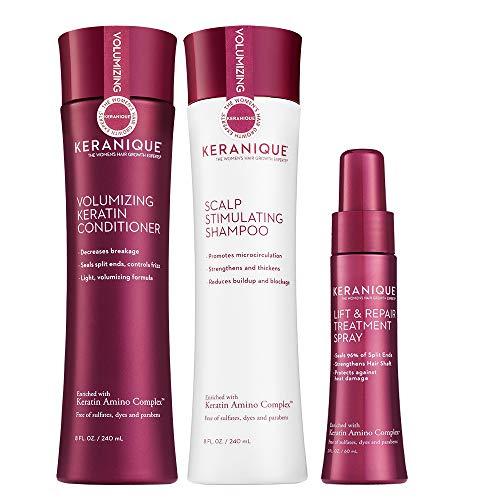 Keranique 60 Day Lift & Repair Kit   Shampoo, Conditioner, and Lift & Repair