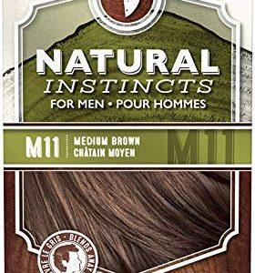 Natural Instincts For Men Haircolor [M11] Medium Brown