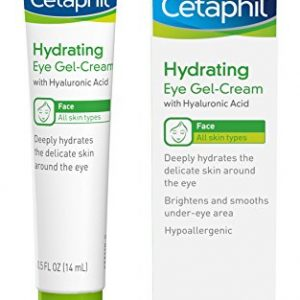Cetaphil Hydrating Eye Gel-Cream With Hyaluronic Acid - Designed to Deeply Hydrate, Brighten & Smooth Under-Eye Area - For All Skin Types