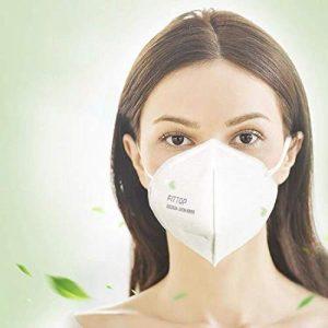 3 Pcs Particulate Respirator Mask Disposable Air Filter Respiratory Antiviral Medical