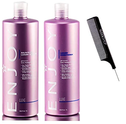 Enjoy LUXURY SHAMPOO & CONDITIONER Duo SET, LUXE Color-Holding Formula