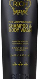 RICH Hair Care Pure Luxury Energizing Shampoo and Body Wash
