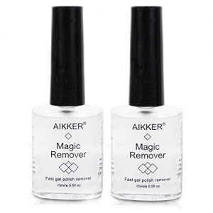 2pcs Magic Remover Set Soak-Off UV Gel Nail Polish Burst Remove Professional Fast
