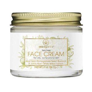 Tea Tree Oil Face Cream - For Oily, Acne Prone Skin Care Natural & Organic Facial