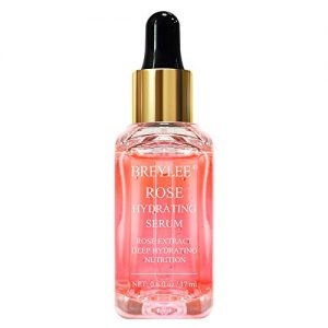 Rose Face Serum, BREYLEE Moisturizing Serum Hydrating Face Serum Rose Essence
