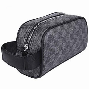 Luxury Make Up Bag | Cosmetic Pouch | Travel Toiletry Bag for Men Women
