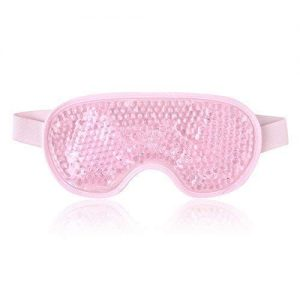 Reusable Eye Mask with Gel Beads for Hot Cold Therapy, Flexible Cold Eye Mask